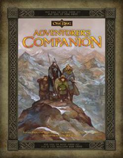 The One Ring RPG: The Adventurer's Companion