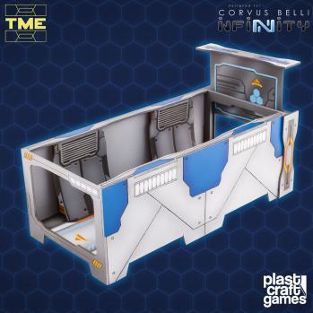 Infinity Terrain: Double Corridor Module