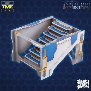 Infinity Terrain:   Stairway Intersection Module