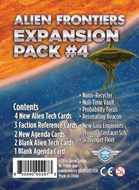 Alien Frontiers: Expansion Pack 4