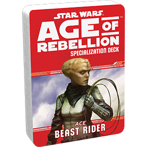 Age of Rebellion RPG: Beast Rider Specialization Deck