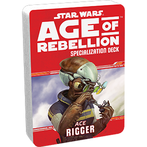 Age of Rebellion RPG: Rigger Specialization Deck