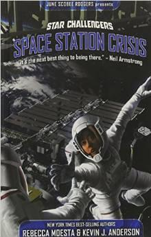 Star Challengers #2 Space Station Crisis [Fiction Novel]