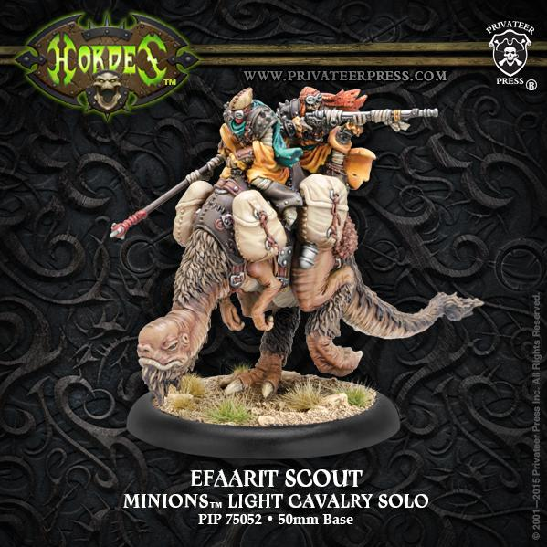 (Minions) Efaarit Scout Light Cavalry Solo (resin/metal)