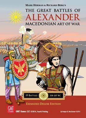 GMT Games: Great Battles of Alexander:  Expanded Deluxe Edition