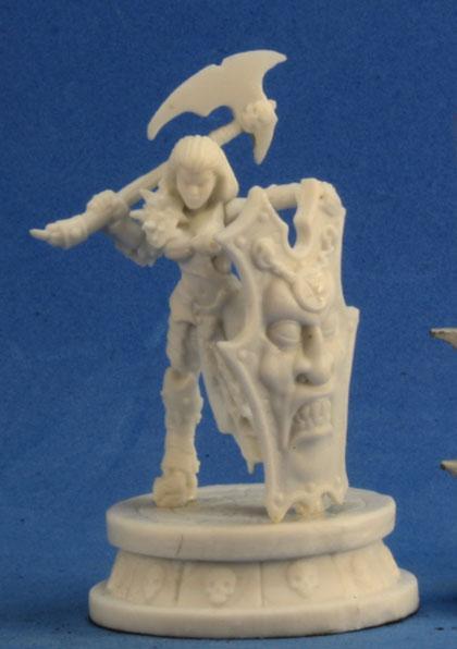 Dark Heaven Bones: Female Antipaladin