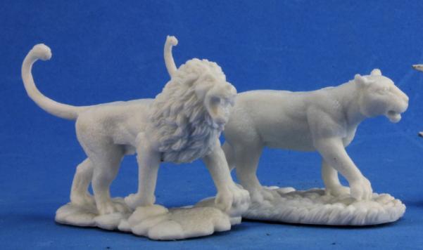 Dark Heaven Bones: Lions (2)