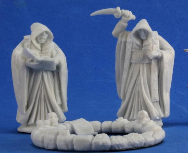 Dark Heaven Bones: Cultists & Circle (3)