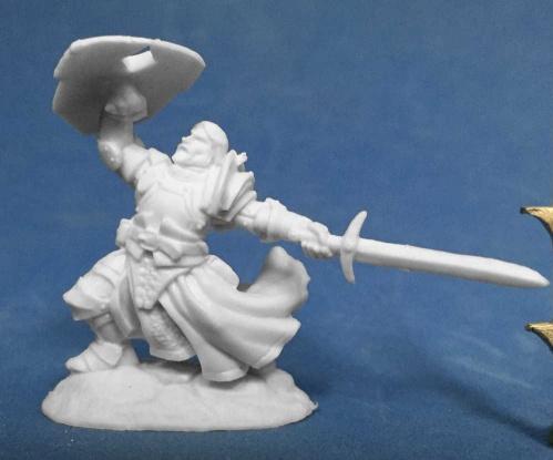 Dark Heaven Bones: Sir Rathan Kranzhel, Human Fighter