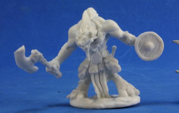 Dark Heaven Bones: Gnoll Warrior