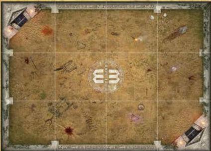Mage Wars Arena Playmat: Salenia