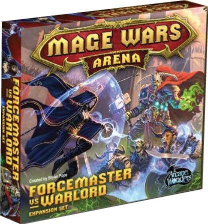 Mage Wars Arena: Forcemaster vs Warlord