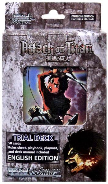 Weiss Schwarz: Attack on Titan Trial Deck