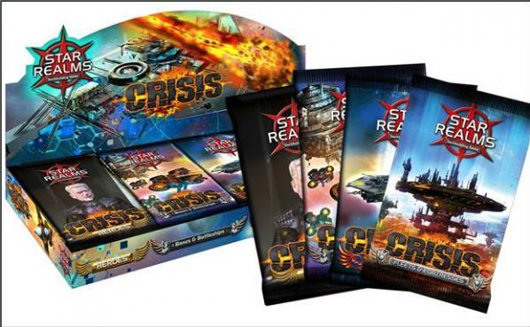 Star Realms: Crisis Expansion Booster Display (24 Packs)
