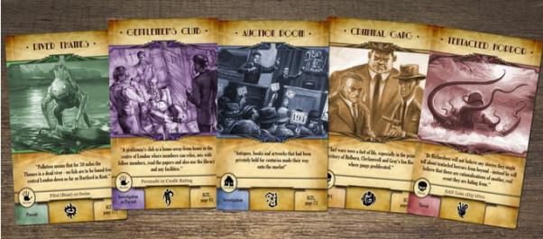 Call Of Cthulhu RPG: The Cards From The Smoke
