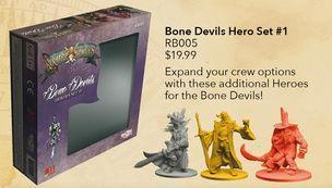 Rum & Bones: Bone Devils Hero Set #1