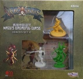 Rum & Bones: Mazu's Dreadful Curse Hero Set #1