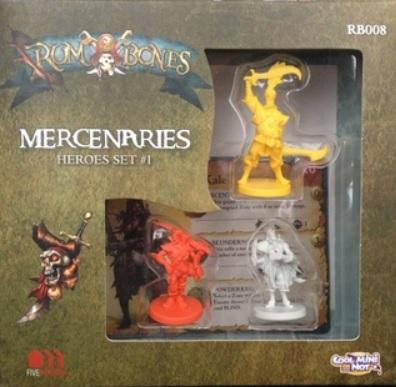 Rum & Bones: Mercenary Hero Set  #1