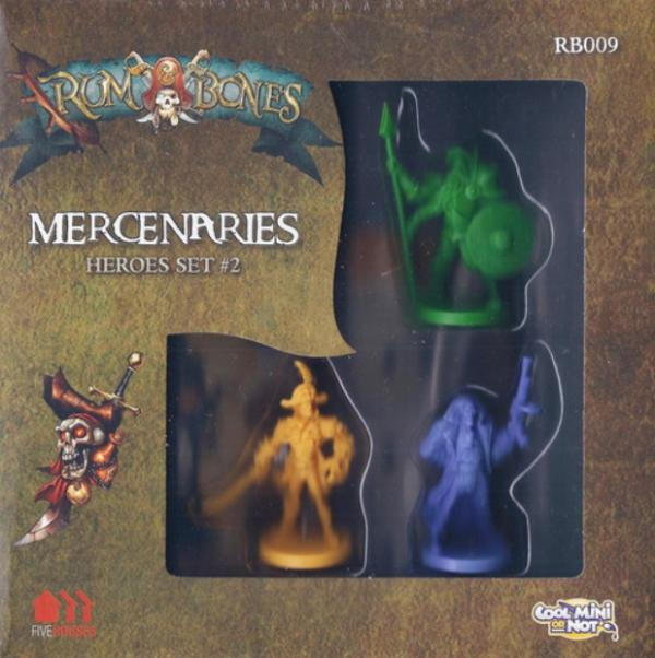 Rum & Bones: Mercenary Hero Set  #2