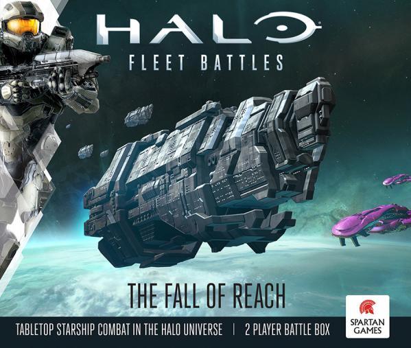 HALO Fleet Battles: The Fall Of Reach (Two Player Box Set)