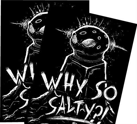 Gaming Accessories:  Why So Salty? Art Sleeves (50)