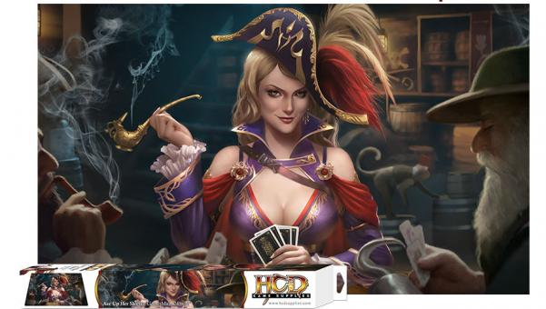 Gaming Accessories: Ace Up Her Sleeve game mat