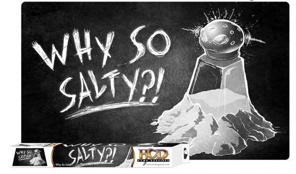 Gaming Accessories: Why So Salty game mat