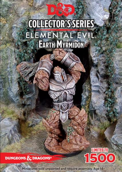D&D Collector's Series: Temple of Elemental Evil: Earth Myrmidon