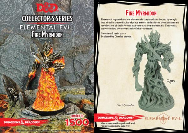 D&D Collector's Series: Temple of Elemental Evil: Fire Myrmidon