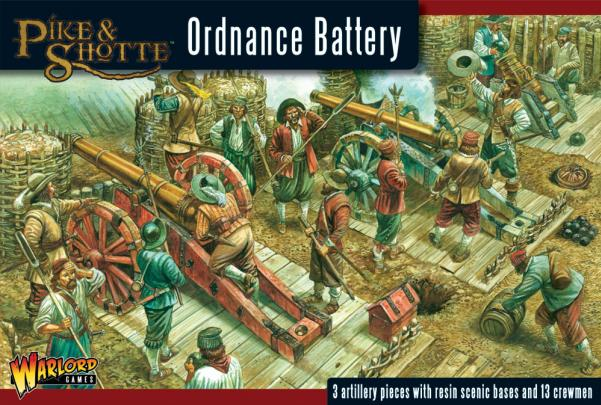 28mm Pike & Shotte: Ordnance Battery
