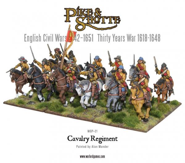 28mm Pike & Shotte: Cavalry