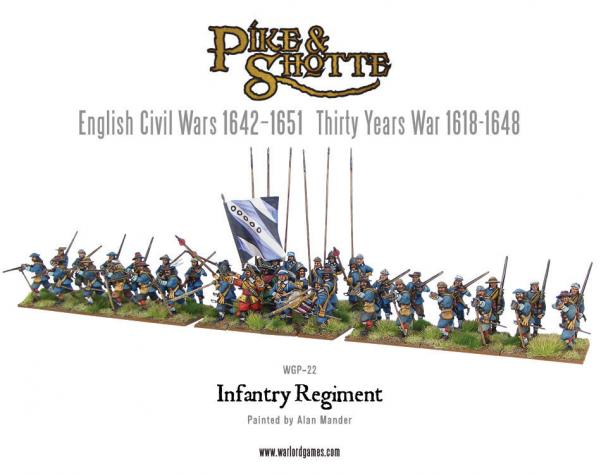 28mm Pike & Shotte: Infantry Regiment