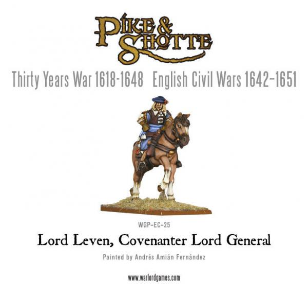 28mm Pike & Shotte -  Lord Leven