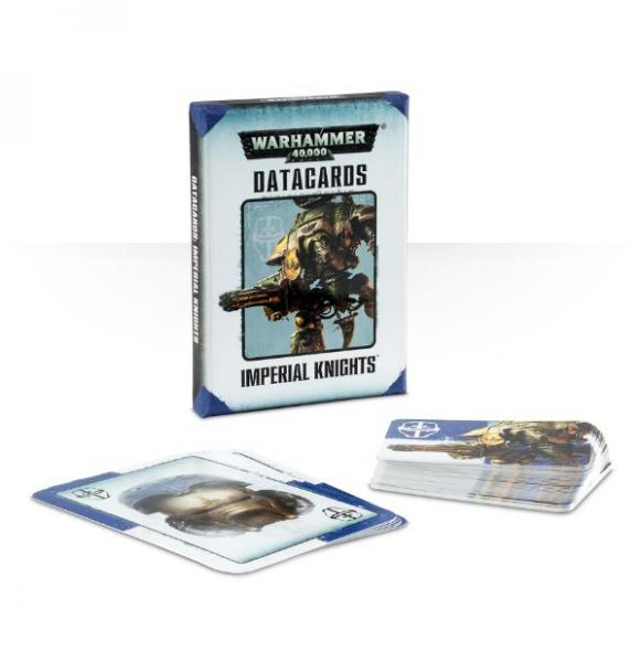 Warhammer 40K: Imperial Knights Datacards