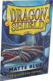Dragon Shields:  Matte Blue Sleeves (100)