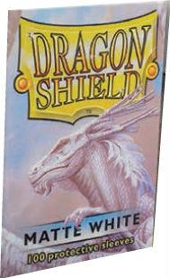 Dragon Shields:  Matte White Sleeves (100)