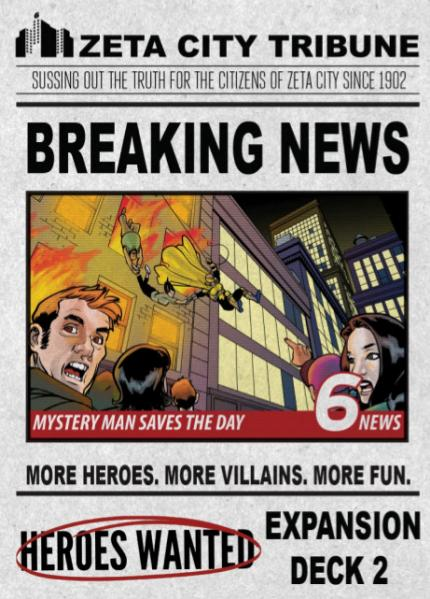 Heroes Wanted: Breaking News (Expansion)