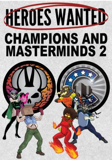 Heroes Wanted: Champions & Masterminds 2 (Expansion)