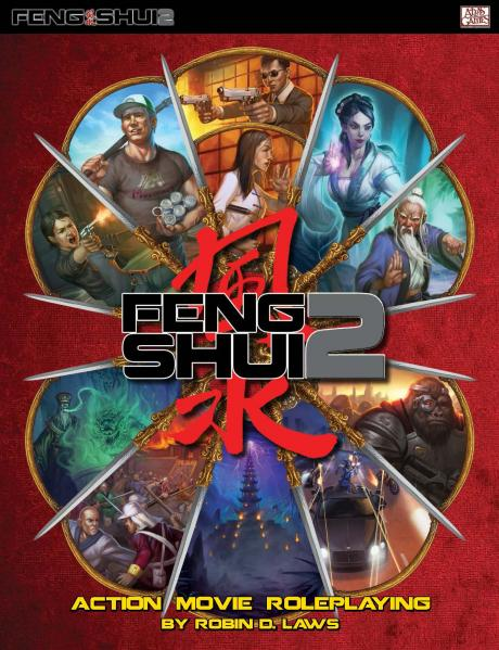 Feng Shui 2 RPG: Core Rulebook (HC)