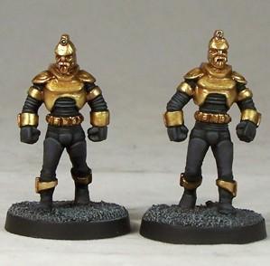 Cult TV Miniatures: Argonauts Mk2 Unarmed (2)