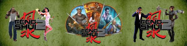 Feng Shui 2 RPG: Game Master's Screen