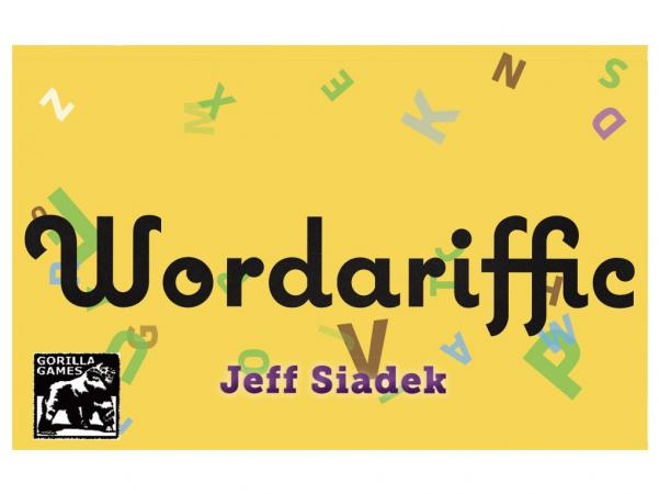 Wordariffic : The tabletop word game party game