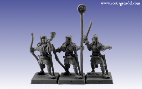 28mm Fantasy: Northmen Archers Command