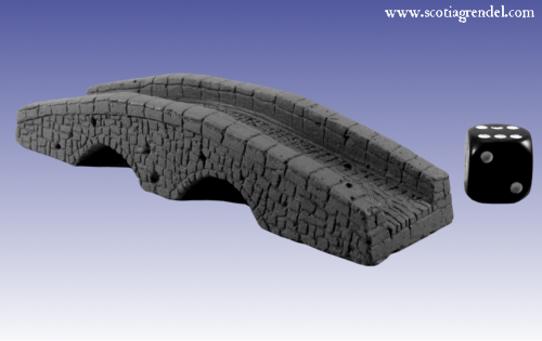 28mm Fantasy: Stone bridge