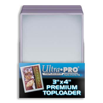 Top Loaders 3x4 Clear (25)
