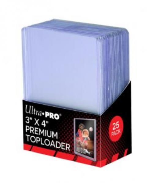 Ultra-Pro: 3'' X 4'' Super Clear Premium Toploader (25ct)