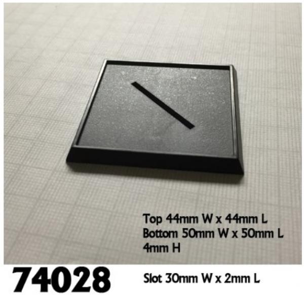2'' Square Plastic Gaming (10)