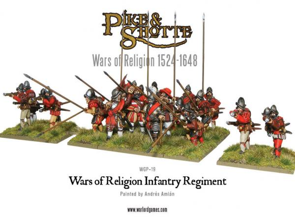 Pike & Shotte: Wars of Religion - Infantry Regiment