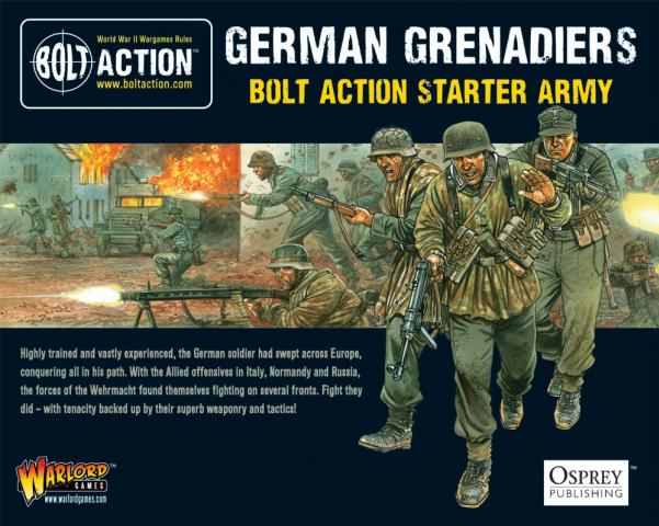 (German) Grenadiers Starter Army