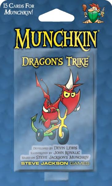 Munchkin: Dragon's Trike (Booster Pack)